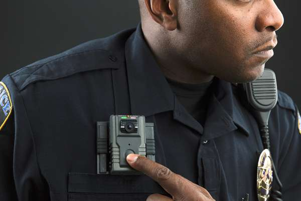 Police Officer Recording Body Camera