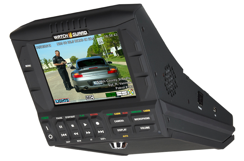 DV-1 DVD-Based Police Dash Cam