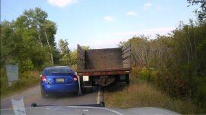 Maine close call accident