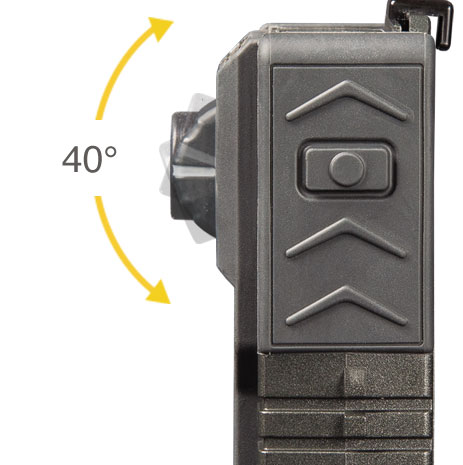 VISTA Body Camera Rotating Turret Close-up