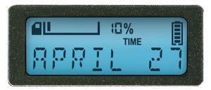 Body Camera LCD Screen - Current Date