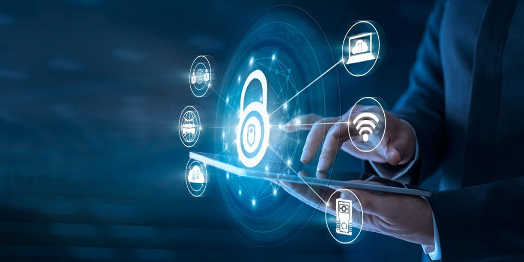 A user implement cybersecurity best practices.
