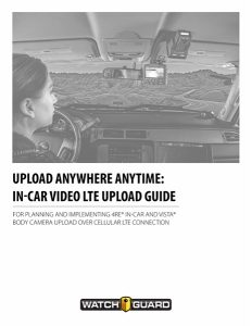 4RE In-Car Video System, Police Dash Camera | WatchGuard Video