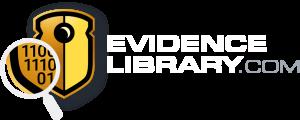 EvidenceLibrary.com Logo White