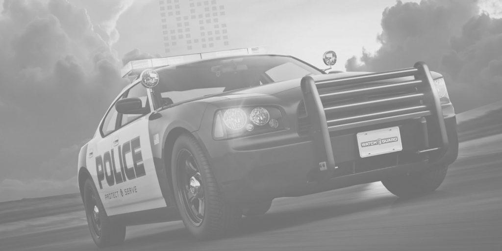 A Patrol Car Uses WatchGuard 4RE for Wireless Uploads.