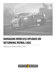 Managing Wireless Uploads on Returning Patrol Cars